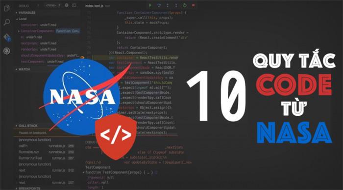 để code như những lập trình viên hàng đầu tại NASA