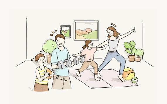 Chia sẻ về lối sống khỏe mạnh lạc quan của trẻ em